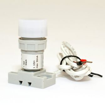 Accessories for LED flat bay and high bay lamps
